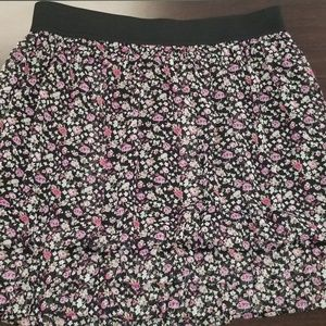 Express Floral Skirt, Size S